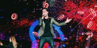 Brendon Urie com o Panic! At The Disco no Rock In Rio 2019