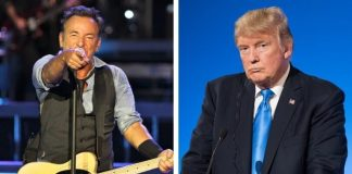 Bruce Springsteen e Donald Trump