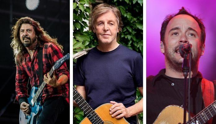 Dave Grohl, Paul McCartney e Dave Matthews tocam em live do Preservation Hall