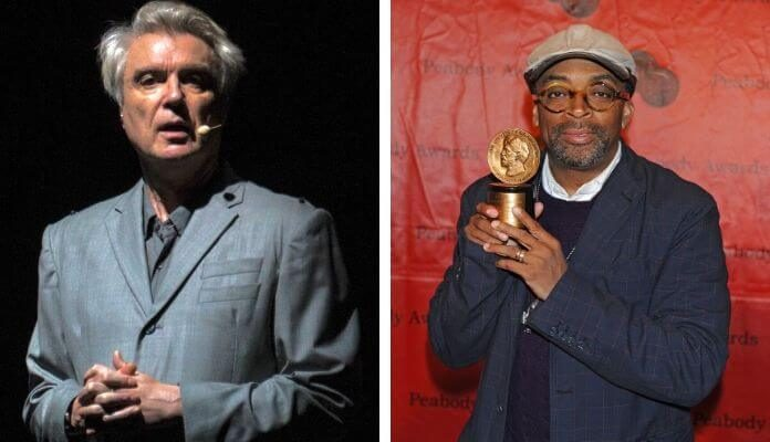 David Byrne e Spike Lee