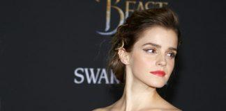 Emma Watson na premiere de A Bela e a Fera em 2017