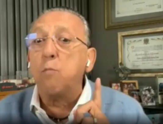Galvão Bueno falando sobre racismo