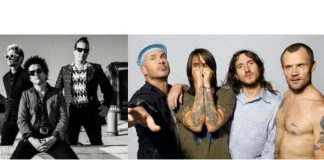 Green Day e Red Hot Chili Peppers
