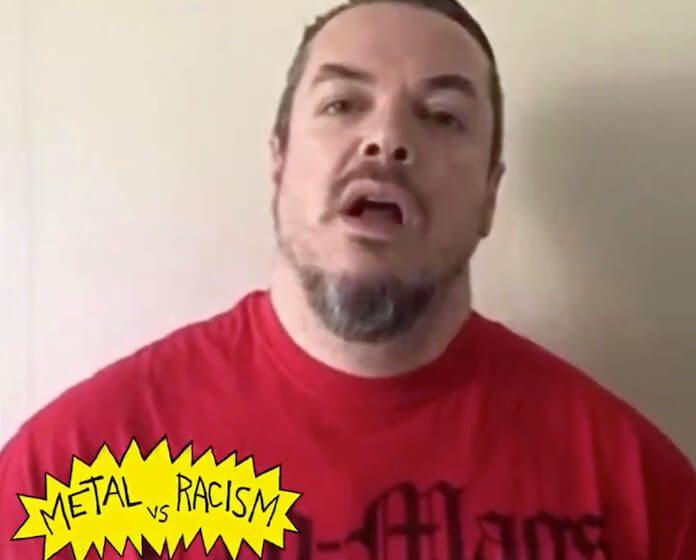Iggor Cavalera no projeto Metal vs. Racismo