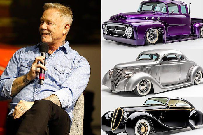James Hetfield e seus carros