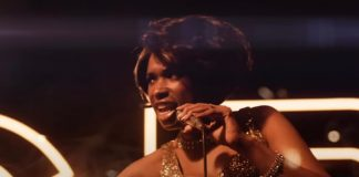 "Jennifer Hudson como Aretha Franklin no trailer de ""Respect"""