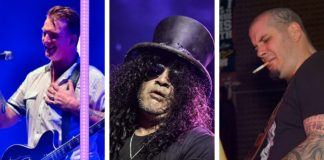 Josh Homme, Slash, Phil Anselmo