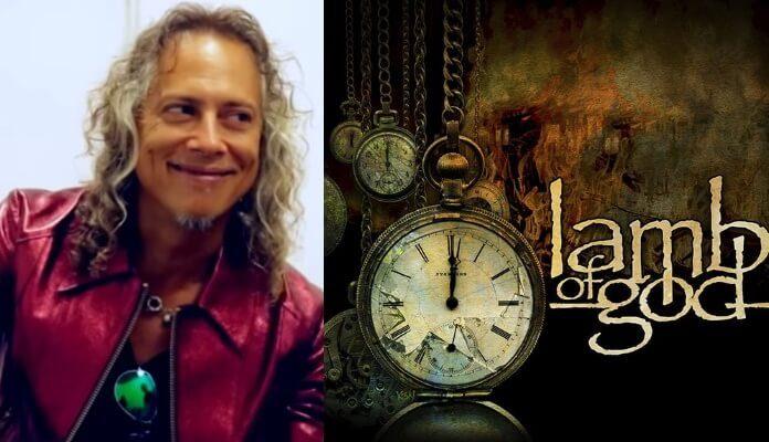Kirk Hammett e o novo disco do Lamb Of God