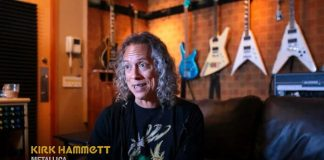 Kirk Hammett em trailer de documentário sobre a Creem