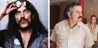 Lemmy Kilmister e Wagner Moura