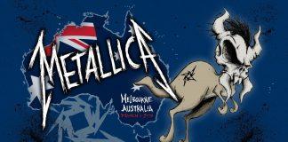 Metallica ao vivo na Austrália, 2013