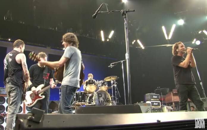 Pearl Jam na Dinamarca em 2012