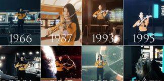 Violinista toca todos os temas de Star Trek