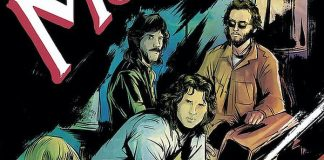 "The Doors, quadrinho de ""Morrison Hotel"""