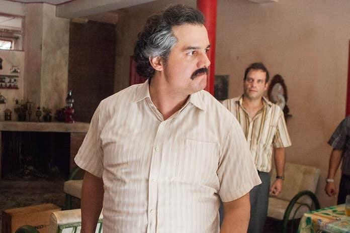 "Wagner Moura em ""Narcos"""