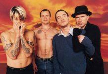 Red Hot Chili Peppers com Frusciante