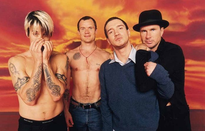 Red Hot Chili Peppers com Frusciante