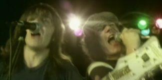 AC/DC no documentário de Back in Black
