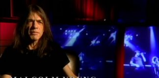 Malcolm Young em vídeo do AC/DC sobre Back In Black