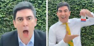 Marcelo Adnet imita Ciro Gomes, Bolsonaro, Lula, Paulo Guedes e mais