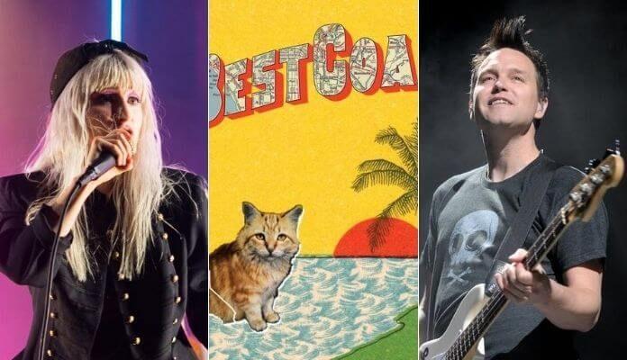 Best Coast com Hayley Williams e Mark Hoppus
