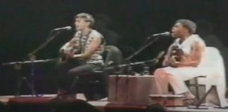 Caetano Veloso e Gilberto Gil como Tropicália Duo