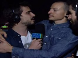 Chester Bennington e Linkin Park no Multishow