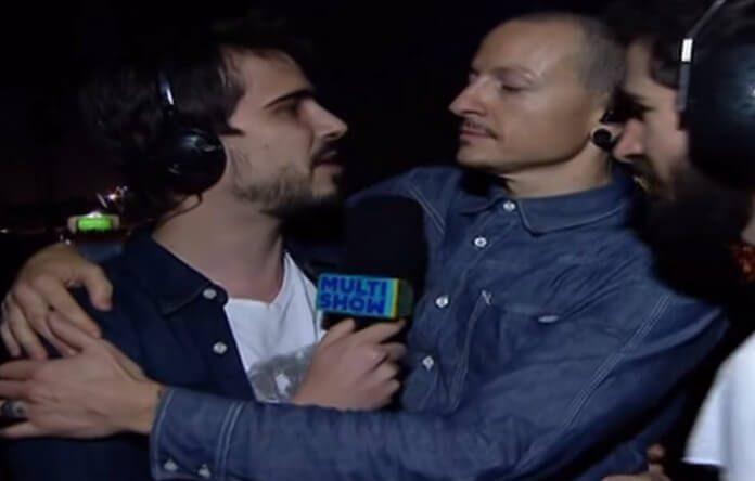Chester Bennington e Linkin Park no Multishow