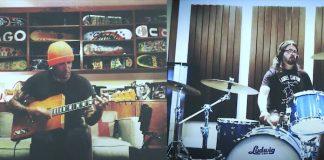 Dave Grohl e Ben Harper em live
