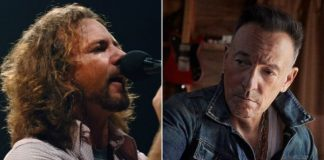 Eddie Vedder e Bruce Springsteen