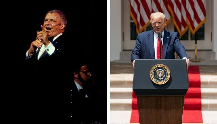 Frank Sinatra e Donald Trump