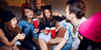 Jovens em festa