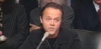 Lars Ulrich no Senado contra o Napster