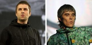 Liam Gallagher e Ian Brown