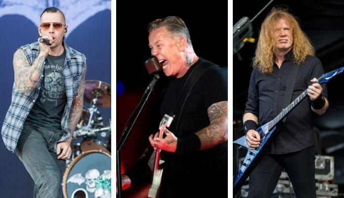 Maiores bandas de metal dos EUA