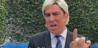 Marcelo Adnet imita Donald Trump em resposta a Felipe Neto