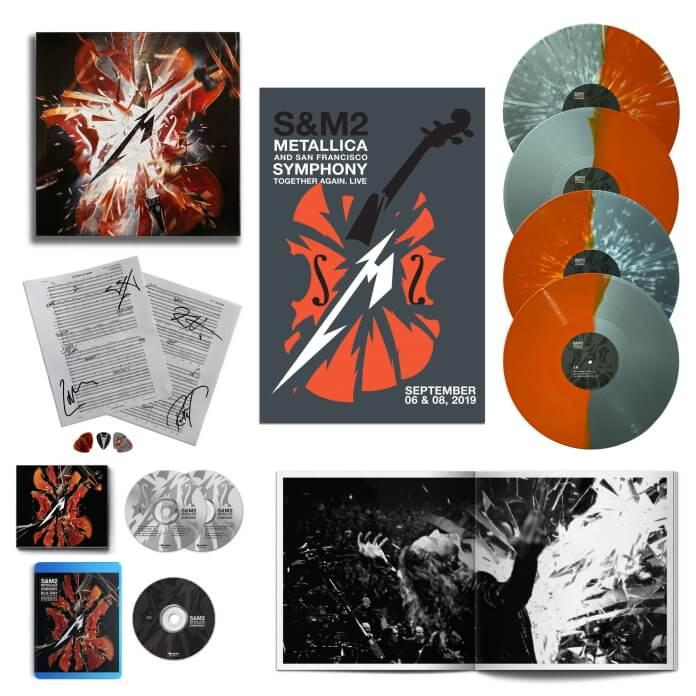 Metallica: formatos e pacotes de S&M 2