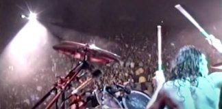 Metallica em vídeo de 1989 da câmera de Lars Ulrich