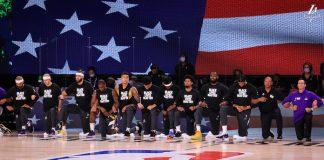 NBA, jogadores se ajoelham pelo Black Lives Matter