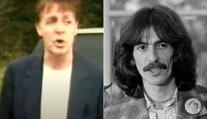 Paul McCartney e George Harrison