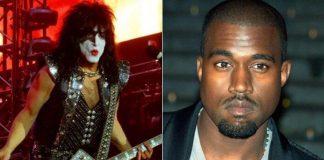 Paul Stanley e Kanye West