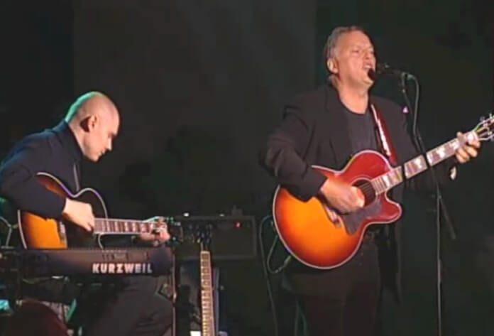 Pink Floyd com Billy Corgan