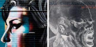 Amy Winehouse e Cabeça Dinossauro, dos Titãs