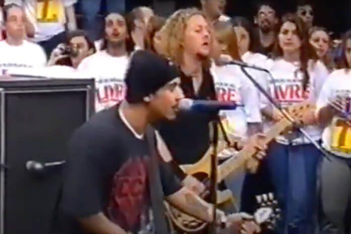 Raimundos no Programa Livre em 1999