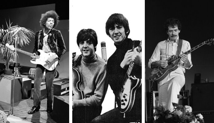 Jimi Hendrix, Beatles, Santana e mais: 20 riffs dos anos 60