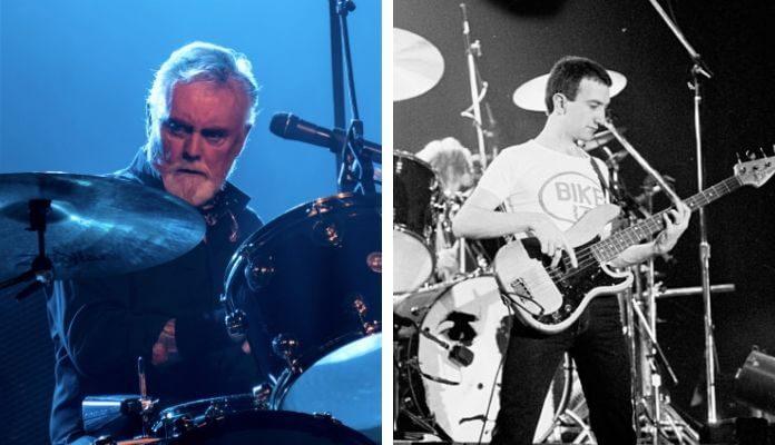 Roger Taylor e John Deacon (Queen)