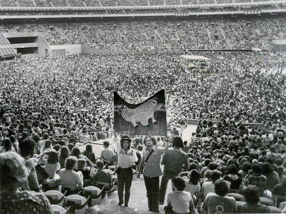 Show do Pink Floyd em Montreal, 1977