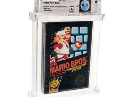 Super Mario, cartucho mais caro do mundo