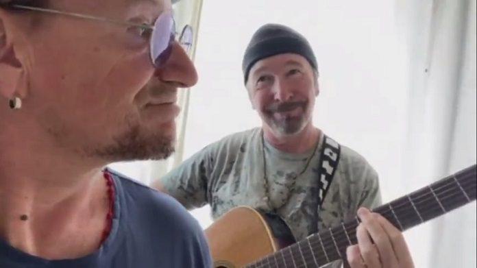 Bono Vox e The Edge (U2)