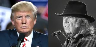 Donald Trump e Neil Young